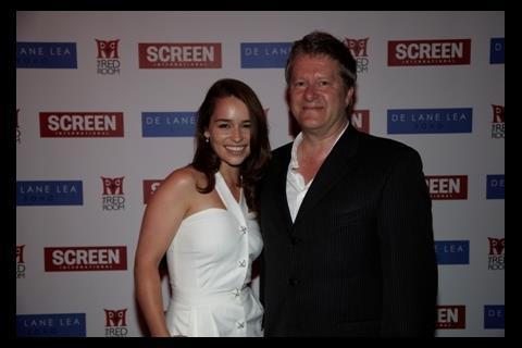 2010 Star of Tomorrow Emilia Clarke with agent Michael Emptage